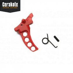 FCC MA Style Tactical Trigger (RED) -