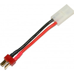 battery wire plug converter for T-shape (male) to large Tamiya plug (female) -