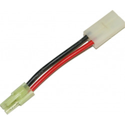 battery wire plug converter for large plug (female) to mini Tamiya plug (male) -