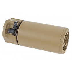 GK Tactical WARDEN Suppressor (14mm CCW) - TAN