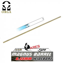 Orga Magnus 6.23 Wide Bore Barrel for GBB (550mm) - Powair6.com