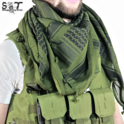 Shemagh Military Tactical OD & Black -