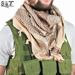 SMT Shemagh Military Tactical Spartan / Brown - AIRSOFT