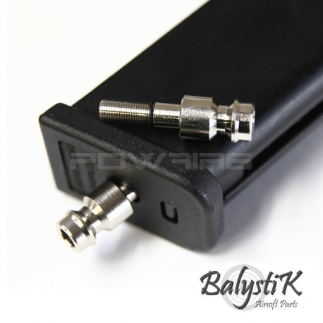 Balystik HPA male connector for MARUI GBB magazine (EU version) -