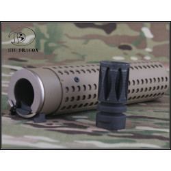 Silencieux Big Dragon BD3533 QD avec Flash hider (tan)