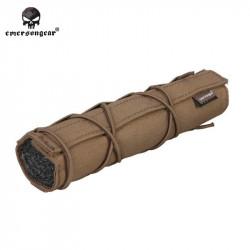 Emerson 22cm Airsoft Suppressor Cover (Coyotte brown) -