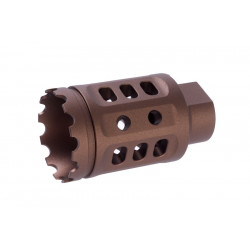 G&P Meat Cutter (s) for M4 AEG (14mm CW & CCW Adaptor included) - Sand