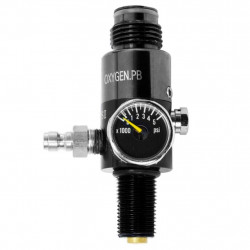 Oxygen hp Regulator for 4500PSI tank -