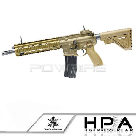 HK416 A5 GBBR Full metal Blowback VFC HPA (tan) -