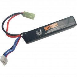 Duel Code Batterie lipo 800mah 11.1V - Mini Tamiya -