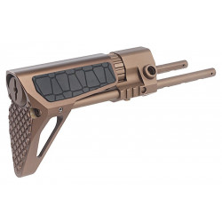 G&P crosse rétractable type PDW pour TM / G&P M4 AEG (Snake, sable)