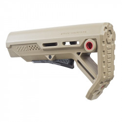 Strike Industries Viper Mod 1 Mil-Spec Carbine Stock (FDE/red)