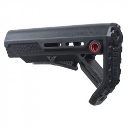 Strike Industries Viper Mod 1 Mil-Spec Carbine Stock (Black/red)
