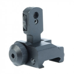 ACM metal flip up folding sight for M4 / m16 AEG
