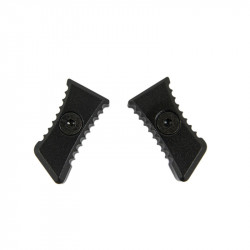 Castellan jagged latches for Ultimate charging handle - BK - Powair6.com