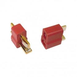 Paire de connecteurs T-PLUG (deans) - Powair6.com