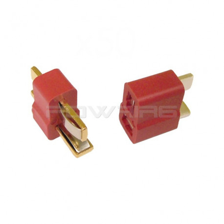 Paire de connecteurs T-PLUG (deans) -