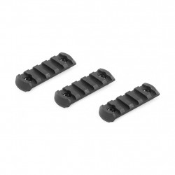 VFC rail 20mm M-LOCK 5 slots (lot de 3)