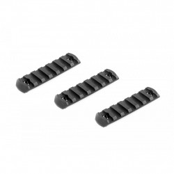 VFC rail 20mm M-LOCK 8 slots (lot de 3)