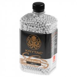 KRYTAC BBs 0.25gr bouteille de 4000