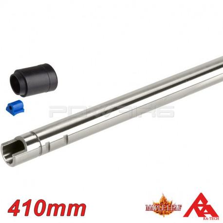 RA-TECH Inner barrel + HOP UP rubber 75° for AEG - 410mm -