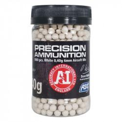 ASG 0.40bb precision ammunition (1000 rounds) -