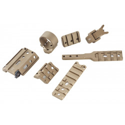 PTS Unity Tactical - FUSION Mounting System DE -