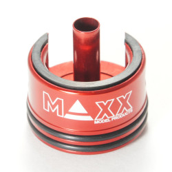 MAxx Model CNC Aluminum Double Air Seal & Damper AEG Cylinder Head -