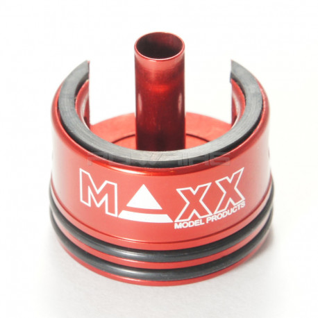 MAxxModel Tete de cylindre CNC aluminium Double oring pour AEG