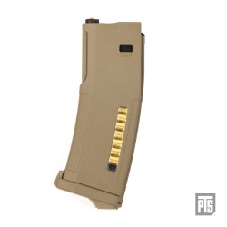 PTS chargeur EPM pour Marui Recoil Shock M4 SCAR 416 - Dark Earth