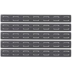 PTS BCM Keymod Rail Panel Kit (5.5inch / 5 Pack) - Black -