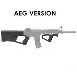 SRU Kit crosse et poignée SR-Q pour M4 AEG (noir)