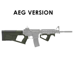 SRU Kit crosse et poignée SR-Q pour M4 AEG (OD)