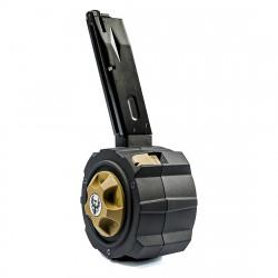 HFC Chargeur DRUM 145 coups pour M9 GBB