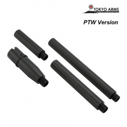 Tokyo Arms Multi-Length CNC Outer Barrel for PTW M4 - Black -