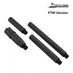 Tokyo Arms multi outer barrel pour M4 PTW - Noir