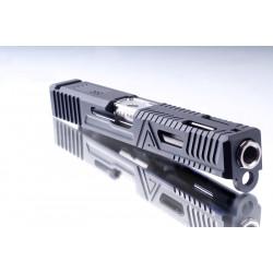 RWA Agency Arms Legacy Slide Set (Cerakote Agency Grey) - Powair6.com