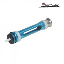Tokyo Arms piston renforcé bleu pour Tokyo Marui VSR-10