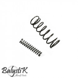 Balystik set of 2 Enhanced spring for AEG M4 hop-up unit - Powair6.com