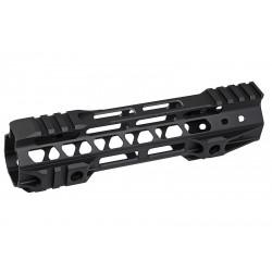 G&P Rail CNC 8 inch M-Lok pour M4 AEG / GBB Noir