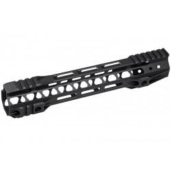 G&P Rail CNC 10.75 inch M-Lok pour M4 AEG / GBB Noir