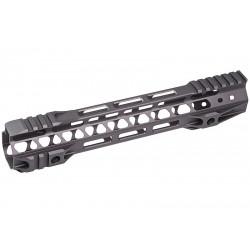 G&P Rail CNC 10.75 inch M-Lok pour M4 AEG / GBB Gris