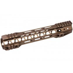 G&P Rail CNC 10.75 inch M-Lok pour M4 AEG / GBB Sable