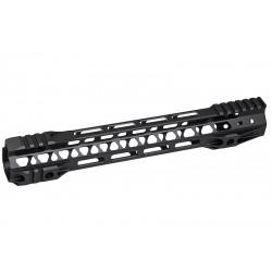 G&P Rail CNC 12.5 inch M-Lok pour M4 AEG / GBB Noir