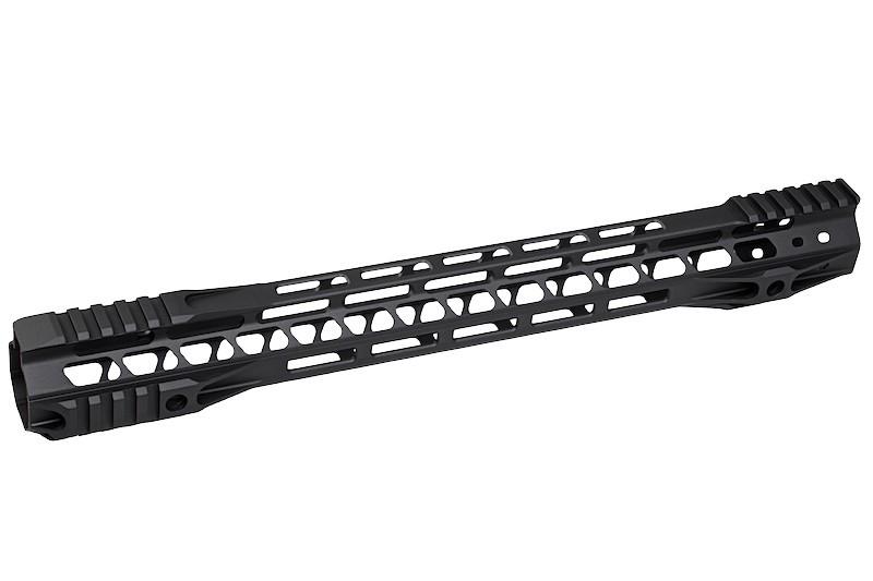G&P Rail CNC 16.2 inch M-Lok pour M4 AEG / GBB Noir