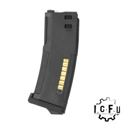 P6 EPM magazine for ICFU system 30/120 rds - Black -