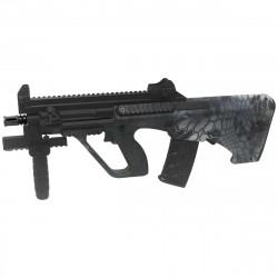 STEYR AUG A3 XS COMMANDO - Black Camo -