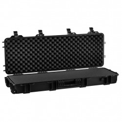 Nuprol Gun Case with cutted foam black - Powair6.com