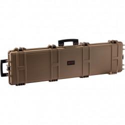 Nuprol XL Gun Case with cutted foam TAN - Powair6.com