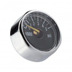 Trinity 5000 psi gauge for air tank -